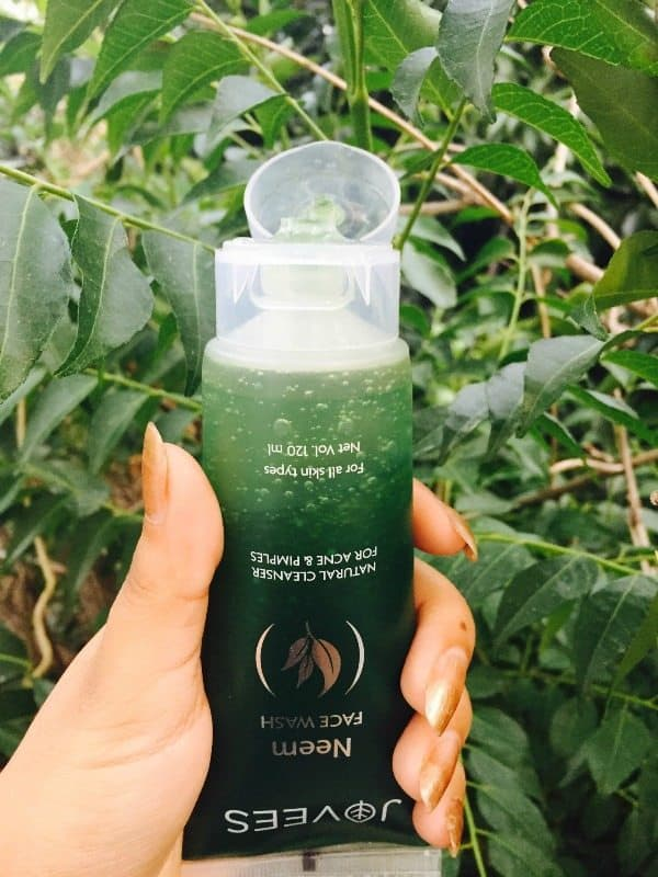 Jovees Neem Face Wash Review 4