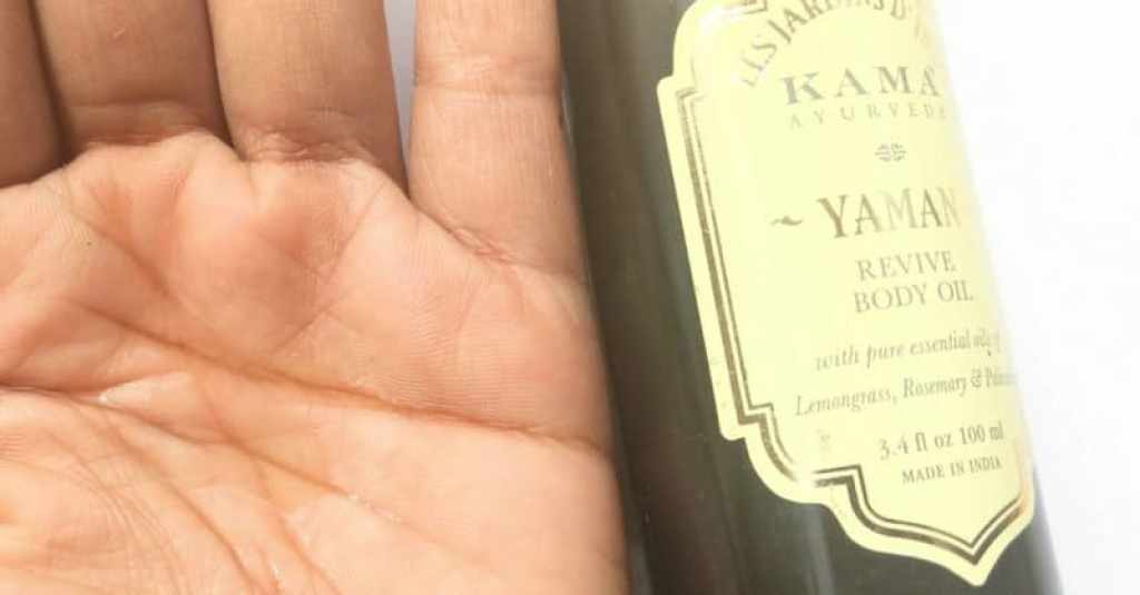 Kama Ayurveda Yaman Revive Body Oil  1