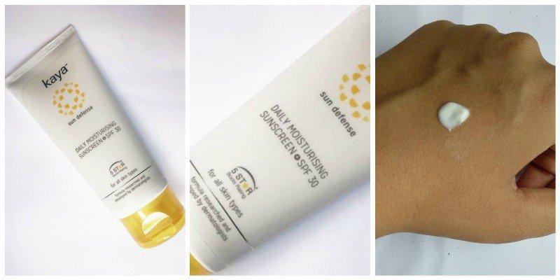 Kaya Sun Defense Daily Moisturising Sunscreen SPF 30