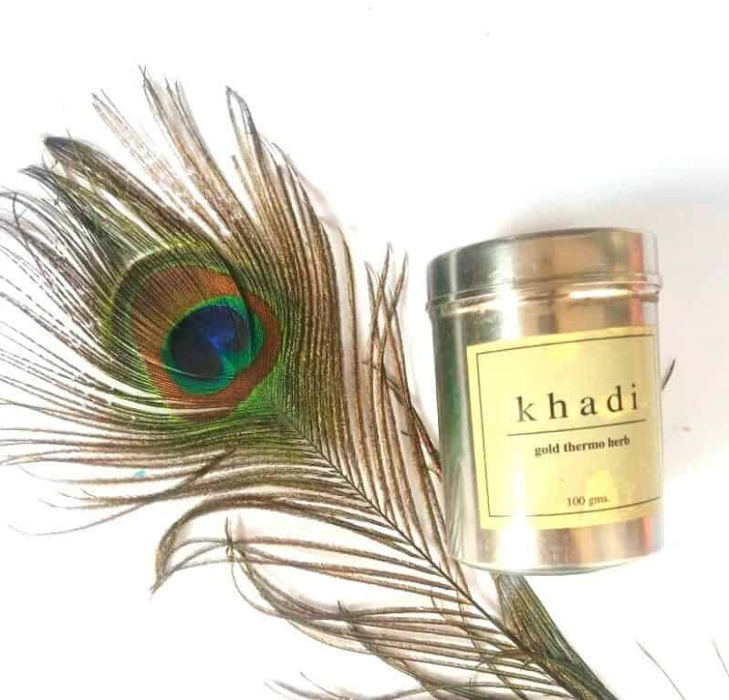 Khadi Natural Gold Thermo Herb Skin Tightening Face Pack Review