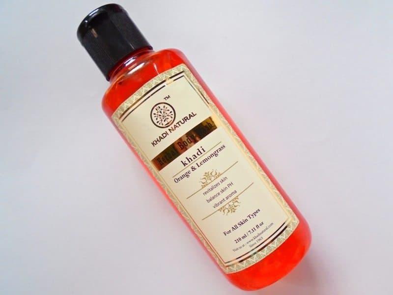 Khadi Natural Orange & Lemongrass Body Wash Review