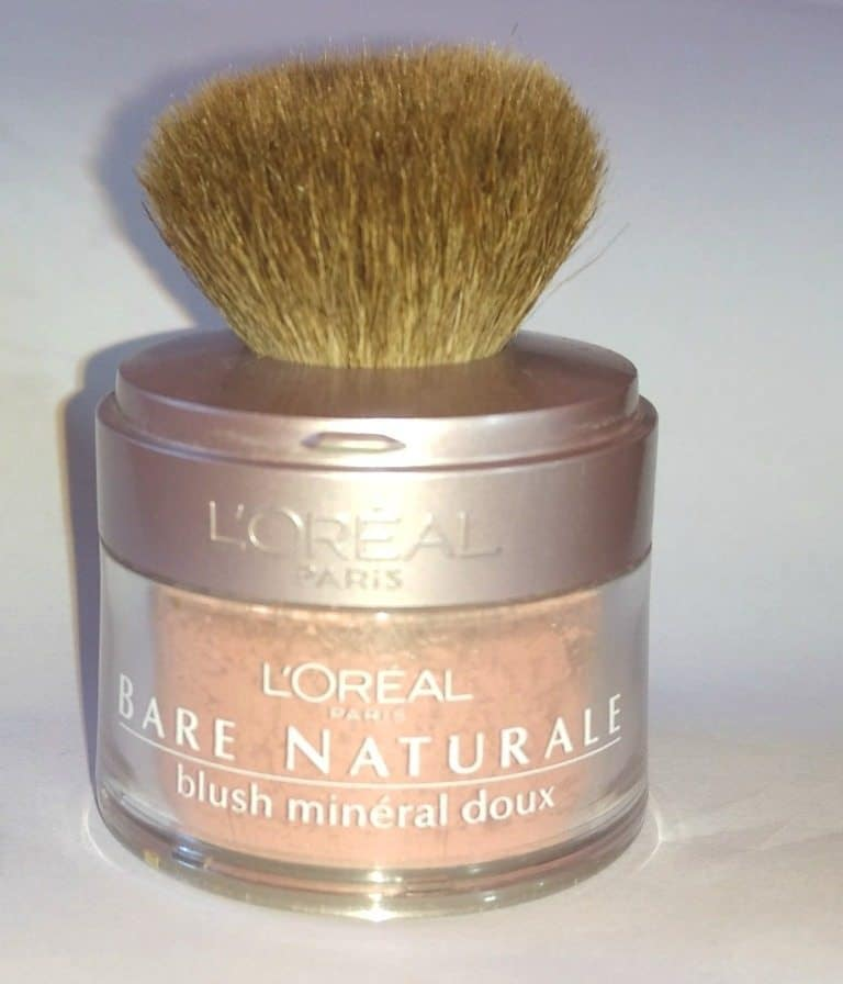 L'oreal Bare Naturale Blush Mineral Doux Review 1