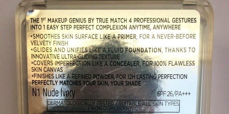 L'oreal True Match Genius 4 In 1 Foundation Review 4