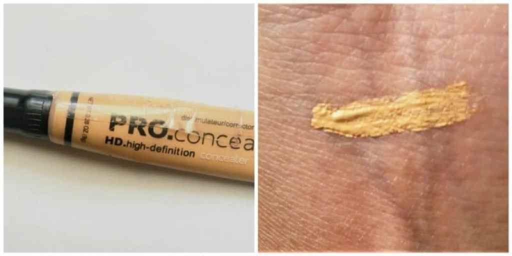 L.A. Girl HD Pro Conceal Yellow Concealer Review 4