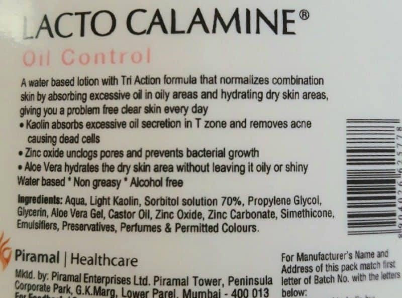 Lacto Calamine Skin Balance Daily Nourishing Lotion For Combination to Oily Skin 3