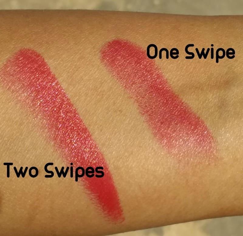 Lotus Herbals Endless Red Lipstick  3