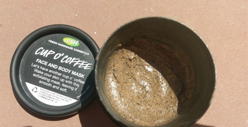 Lush Cup O' Coffee Face and Body Mask Review 2