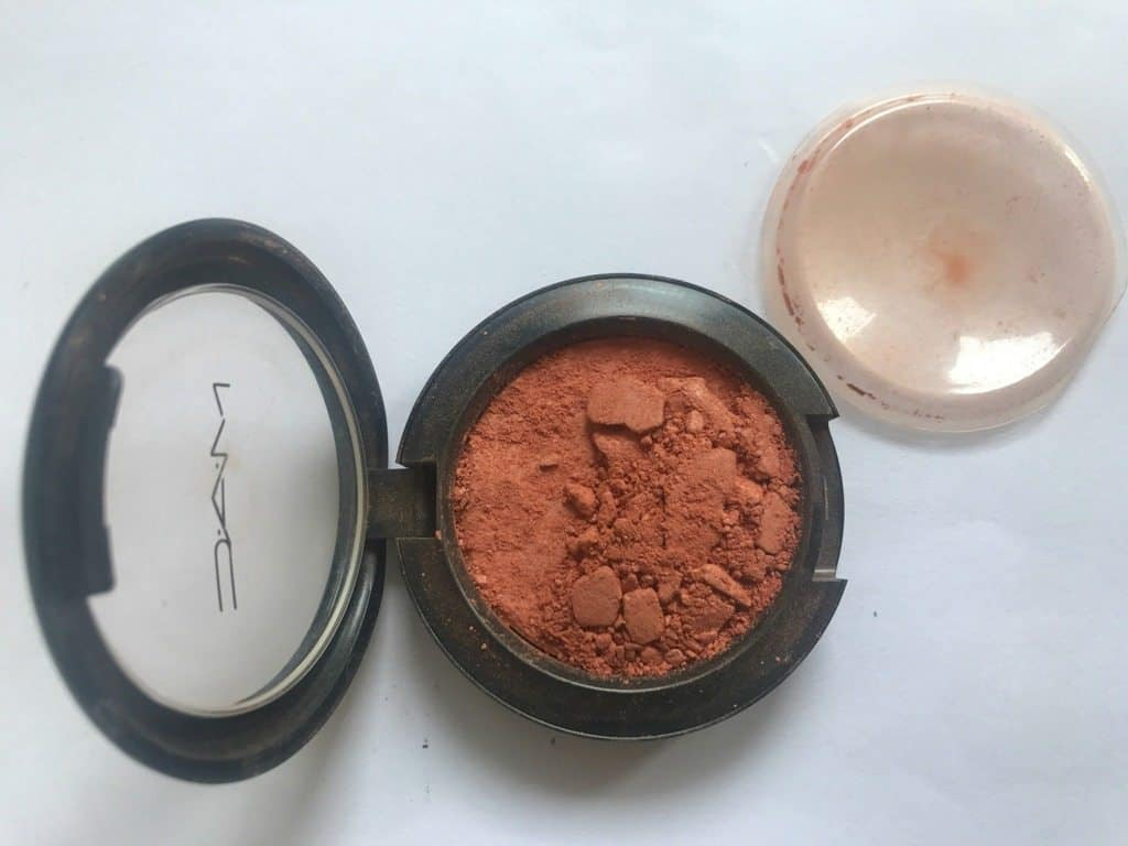 MAC Mineralize Blush Fresh Honey Review 3