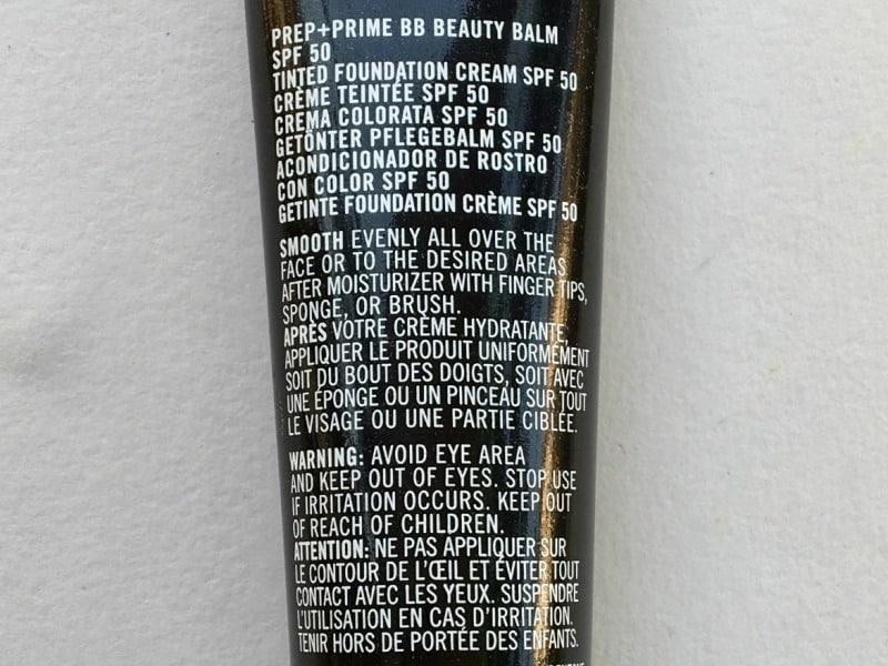 MAC Prep + Prime BB Cream  1