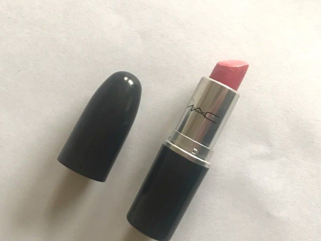 MAC Sweetie Luster Lipstick Review  7