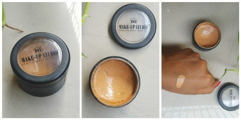 Makeup Studio Face It Cream Foundation Carribean