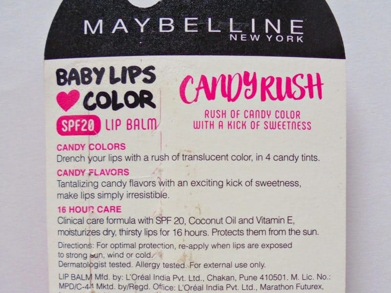 Maybelline Baby Lips Candy Rush Gummy Grape Review 4