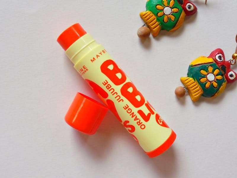 Maybelline Baby Lips Candy Rush Orange Jujube Review 1