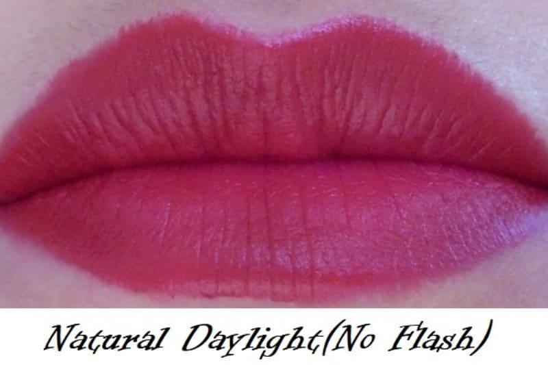 Maybelline Color Jolt Matte Intense Lip Paint 06 Vamp Red Review 3