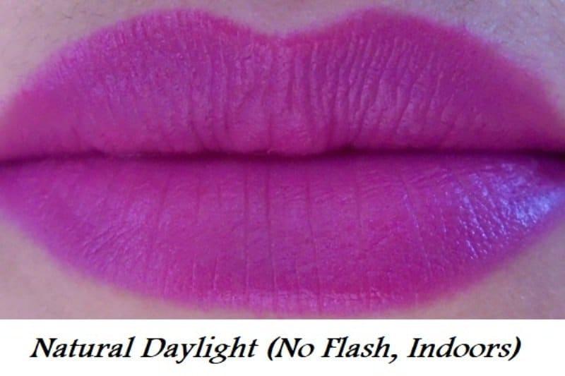 Maybelline Color Jolt Matte Intense Lip Paint 07 Vanity Violet Review 3