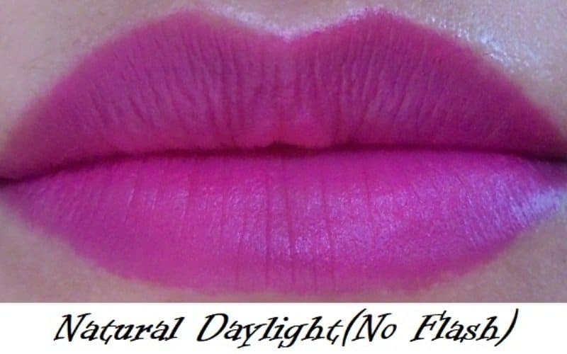 Maybelline Colorshow Bright Mattes Peppy Pink M105 7