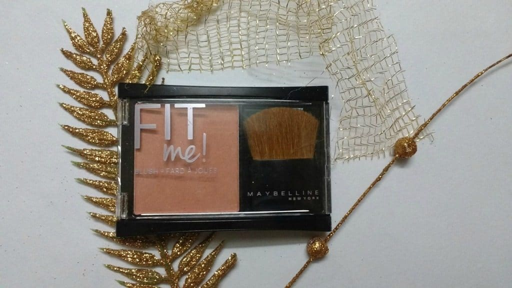Maybelline Fit Me 202 Medium Coral Blush Review