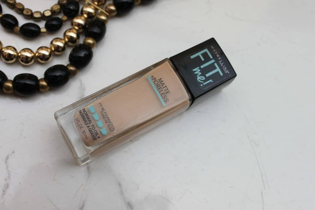 Maybelline Fit Me Foundation Matte + Poreless Review 1