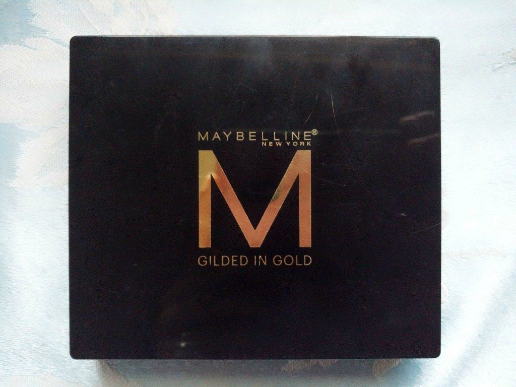 Maybelline Gilded in Gold Palette Review 10