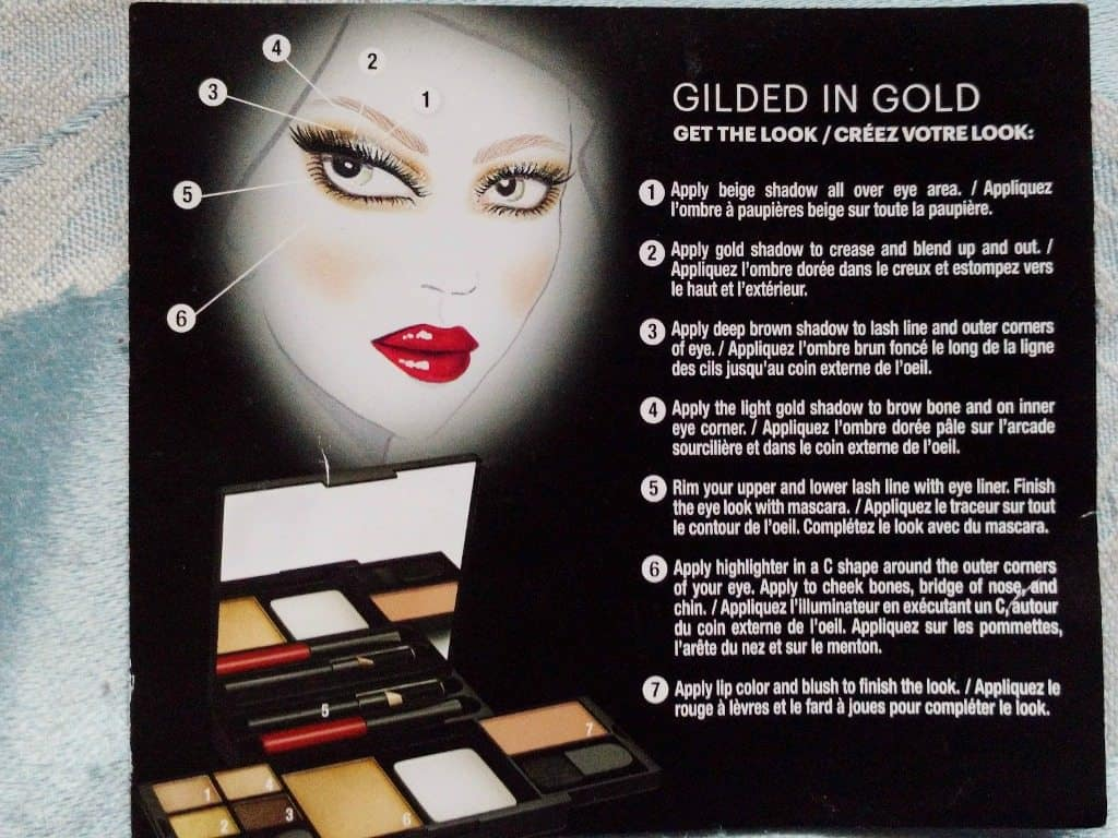 Maybelline Gilded in Gold Palette Review 3
