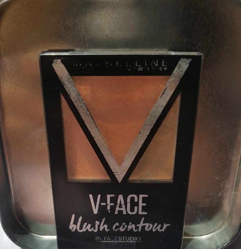 Maybelline New York V-Face Blush Contour Brown by Face Studio Review 5