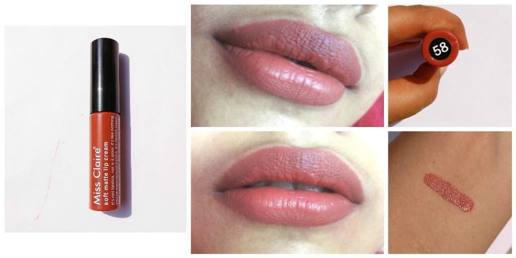 Miss Claire Soft Matte Lip Cream 58