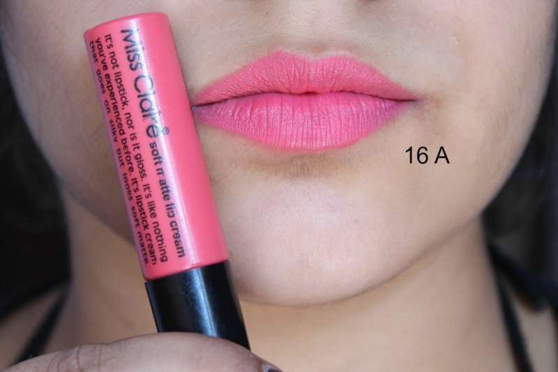 Miss Claire Soft Matte Lip Creams Miss Claire Soft Matte Lip Cream 01 , 05 ,07 , 16A , 17 ,27 5