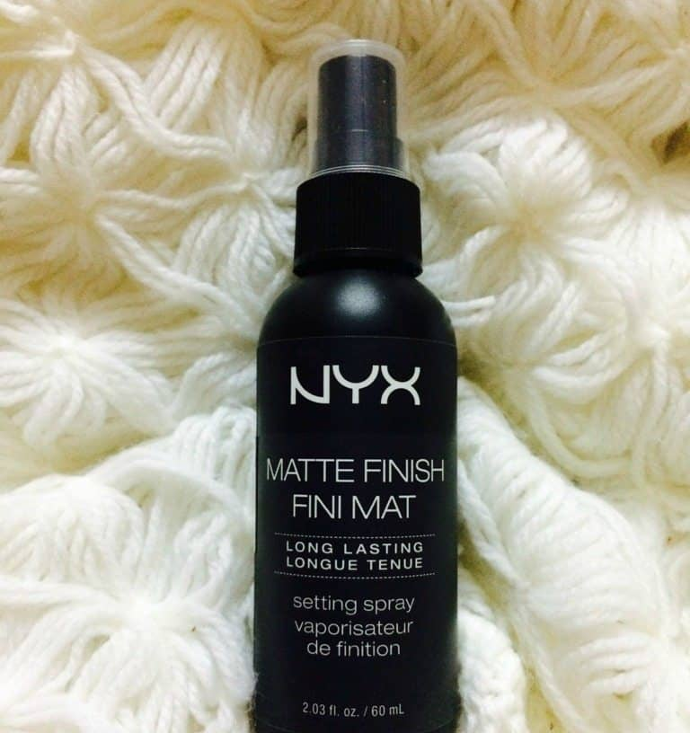 NYX Long Lasting Spray Makeup Setting Spray Matte Finish Review