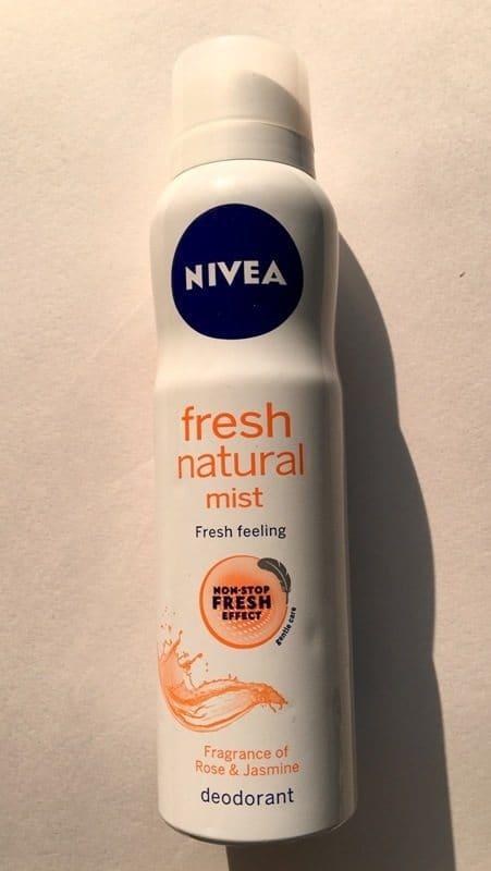 Nivea Fresh Natural Mist Review
