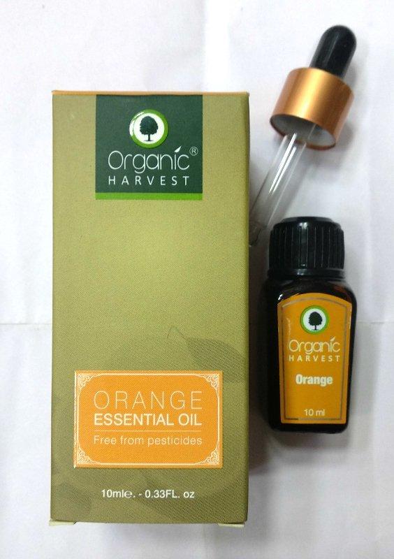 Organic Harvest Orange Essential Oil