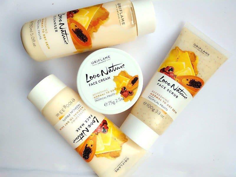 Oriflame Fruit Facial Kit