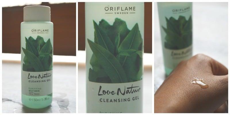 Oriflame Love Nature Tea Tree Face Wash