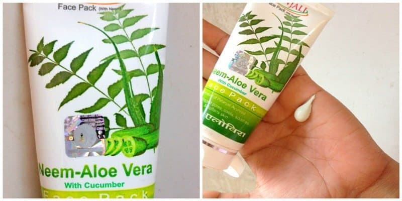Patanjali Neem Aloe Vera Face Pack Review 4