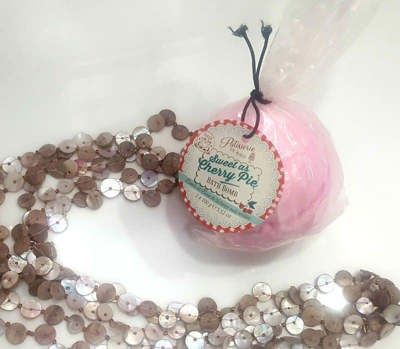 Patisserie De Bain Sweet As Cherry Pie Bath Bomb