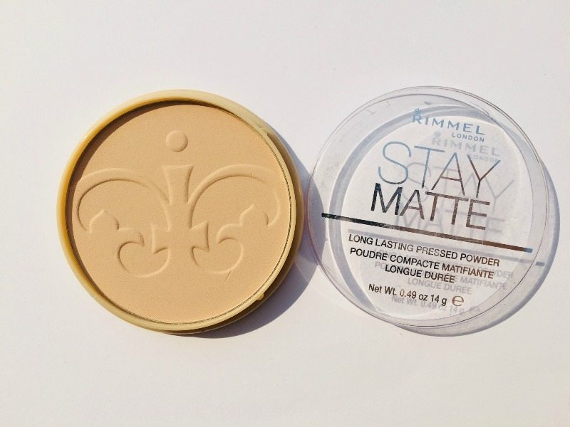 Rimmel Stay Matte Long Lasting Pressed Powder 1