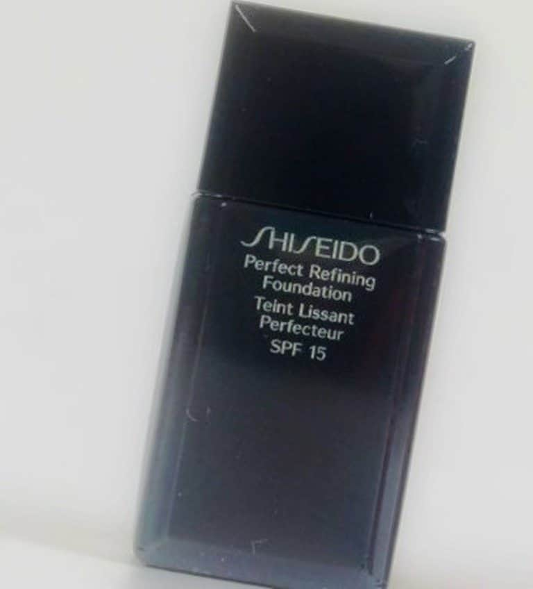 Shiseido Perfect Refining Foundation Review 1