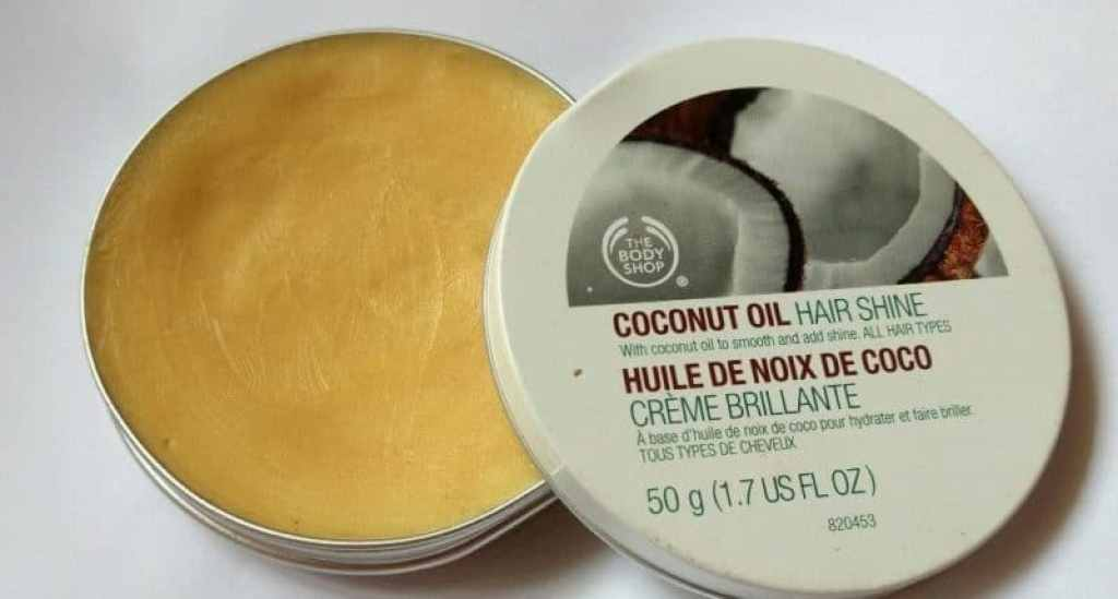 The Body Shop Coconut Oil Hair Shine 1
