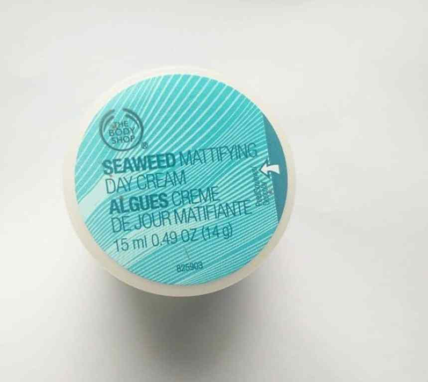 The Body Shop Seaweed Mattifying Day Cream Review