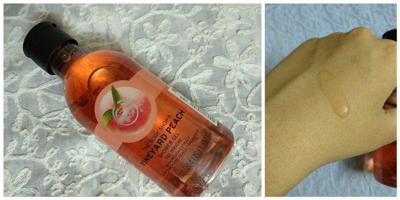 The Body Shop Vineyard Peach Shower Gel