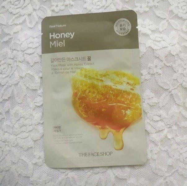 The Face Shop Honey Face Mask 1