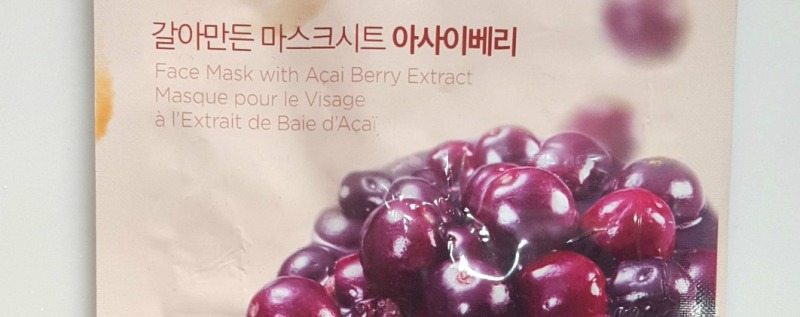 The Face Shop Real Nature Acai Berry Face Mask 2
