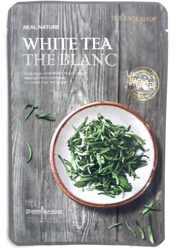 The Face Shop Real Nature Face Mask White Tea