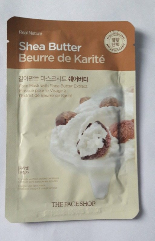 The Face Shop Real Nature Shea Butter Mask