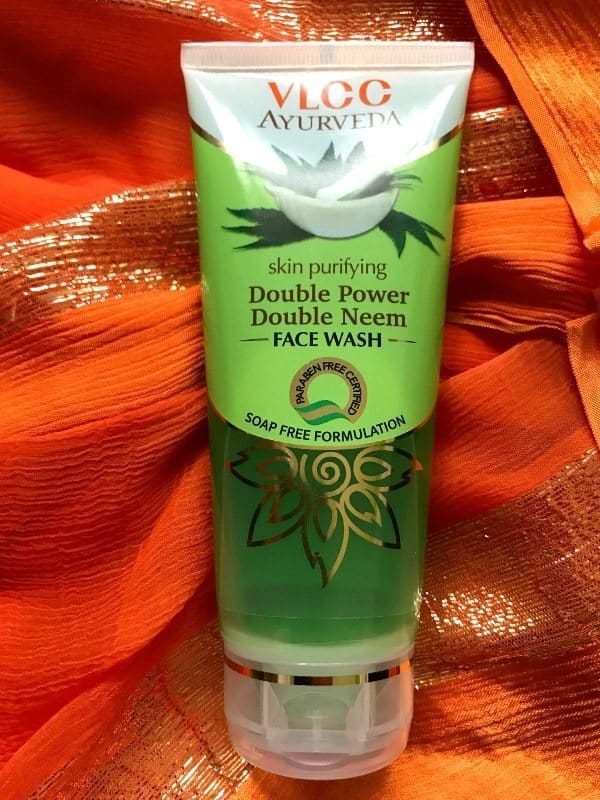 VLCC Ayurveda Double Power Double Neem Face Wash Review