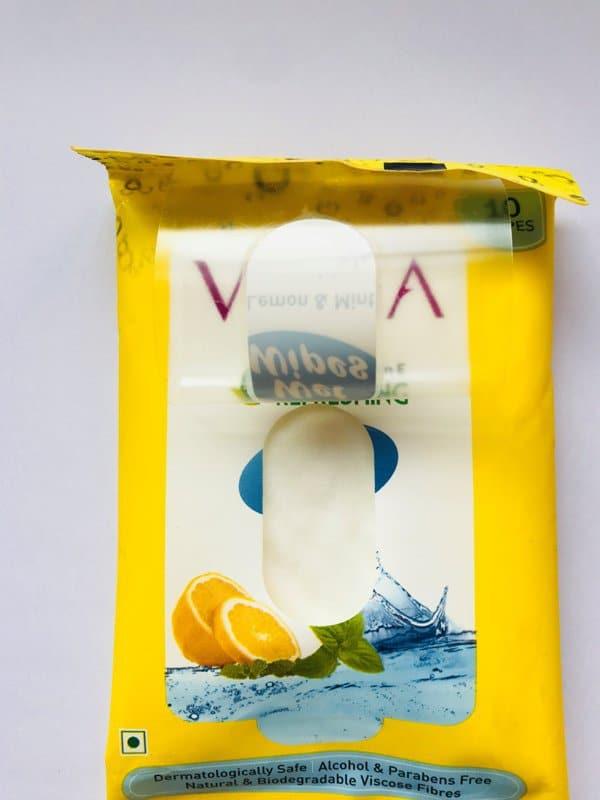 Vega Vitamin E Refreshing Wet Wipes 3