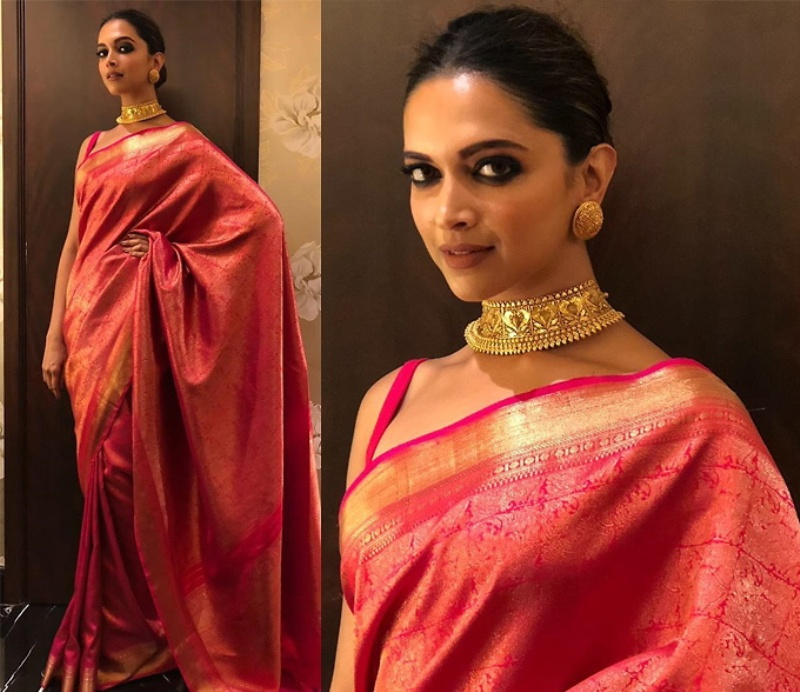We are Crushing Over These Celebrities in Silk Sarees !