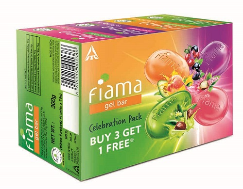 Fiama Celebration Pack Gel bars 1