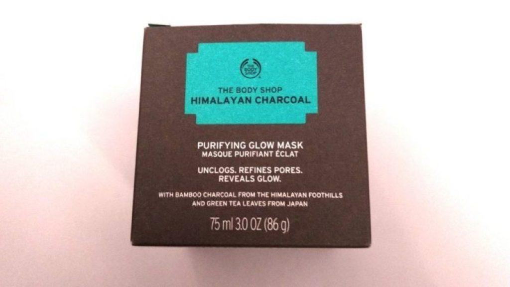 The Body Shop Himalayan Charcoal Purifying Glow Mask 1