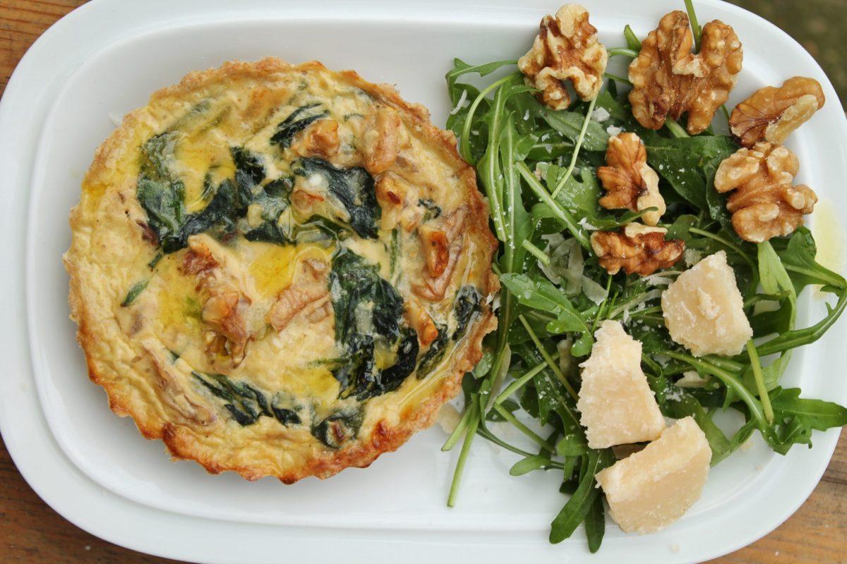Spinach & Parmesan Mini Quiches