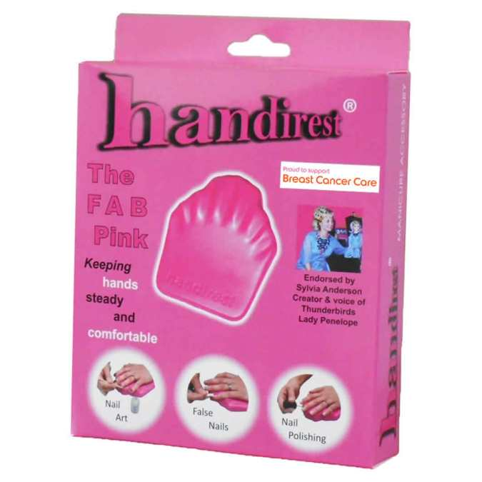 WIN a special edition PINK FAB Handirest